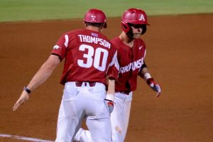 Big Inning Preserves Series-Opening Win Over Georgia