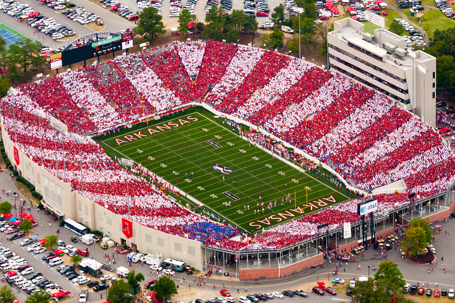 Arkansas football game vs. Missouri moved to Friday
