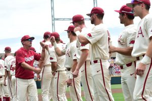 Arkansas Hoping To Keep CWS Momentum Against Texas Tech
