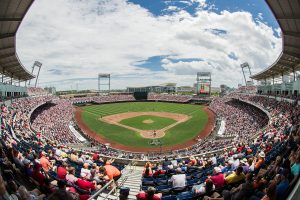 College World Series Photo Gallery – Game 1 vs Texas