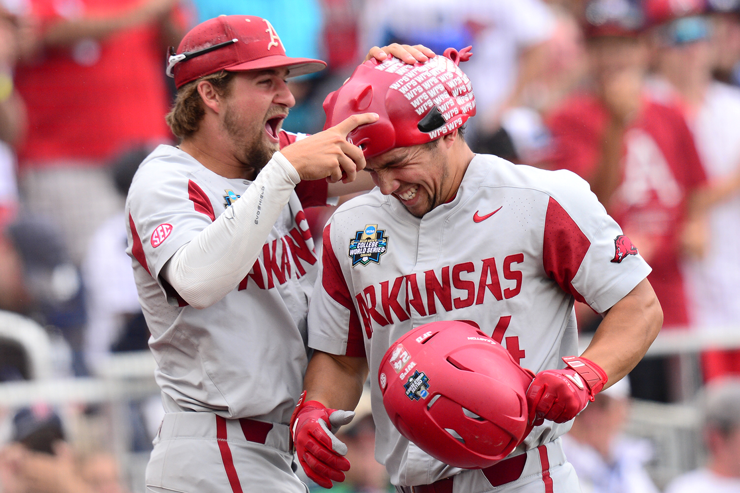 Fletcher Leads Razorbacks Into CWS Semifinals