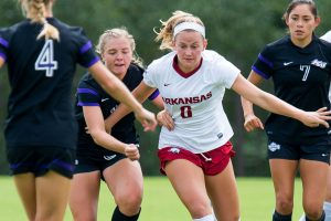 Defensive Stand Gives Razorbacks First Victory