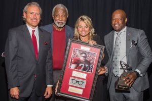 Mike Anderson Honored at Burlsworth Foundation Legends Dinner