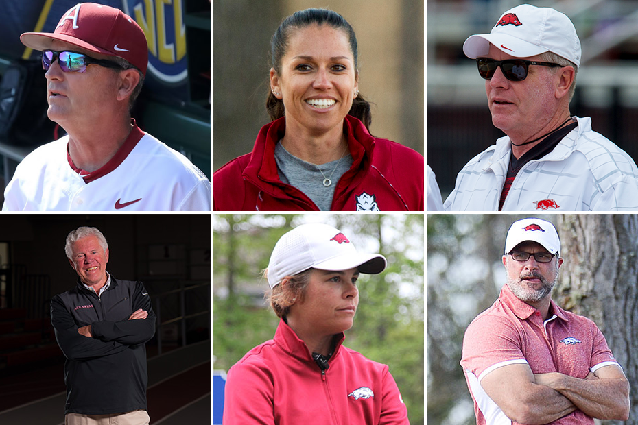 Razorbacks Sign Six Coaches To New Contracts