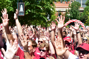 Razorback Fans In 40+ States, 16 Foreign Countries Participate In ONE Hog Call Friday, Aug. 31