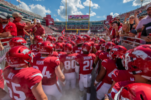 Razorbacks Gear up for GameDay Recycling Challenge