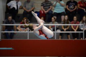 Schultz Sets School 3-Meter Record at South Carolina