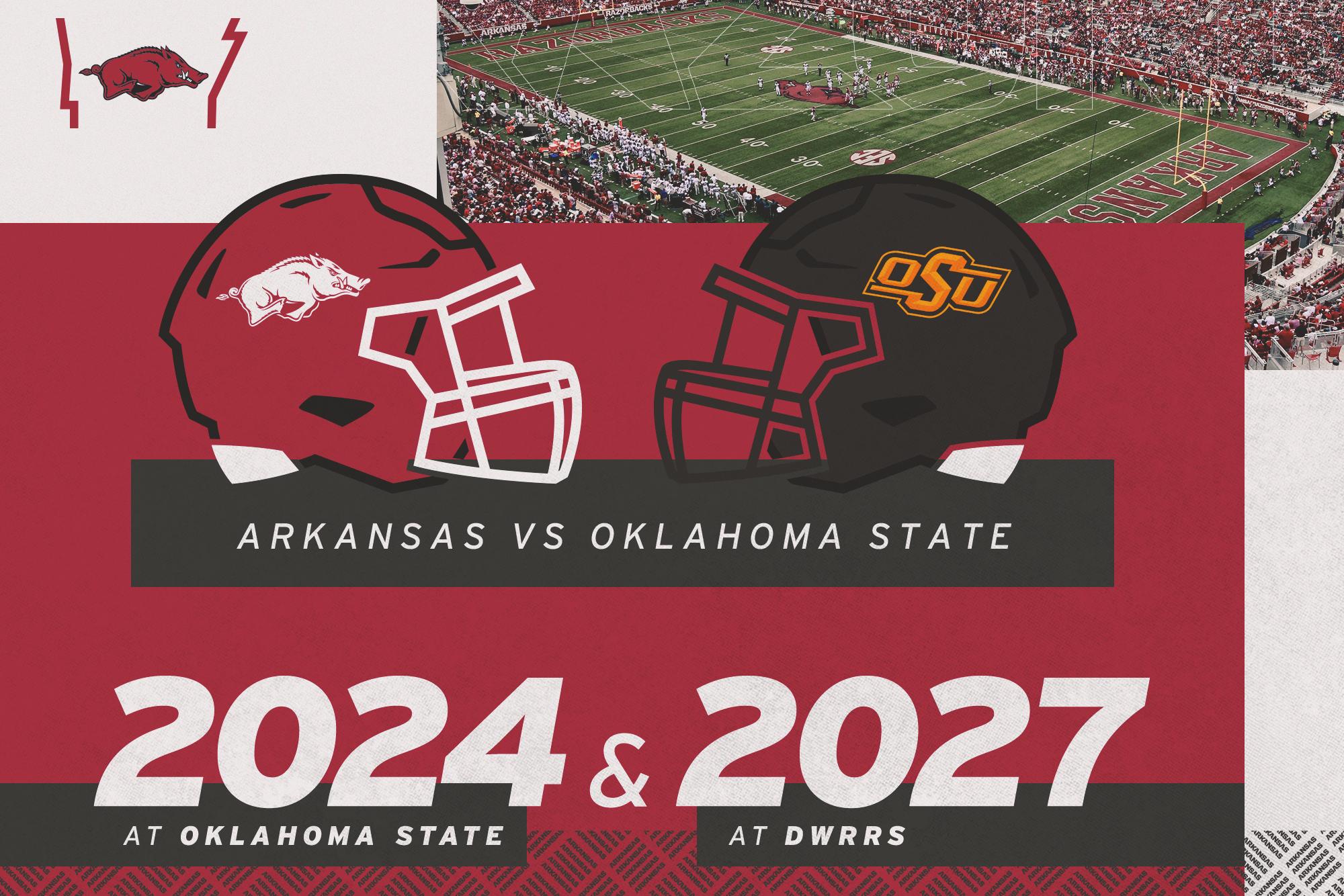 Arkansas Oklahoma State Agree To Non Conference Series Arkansas