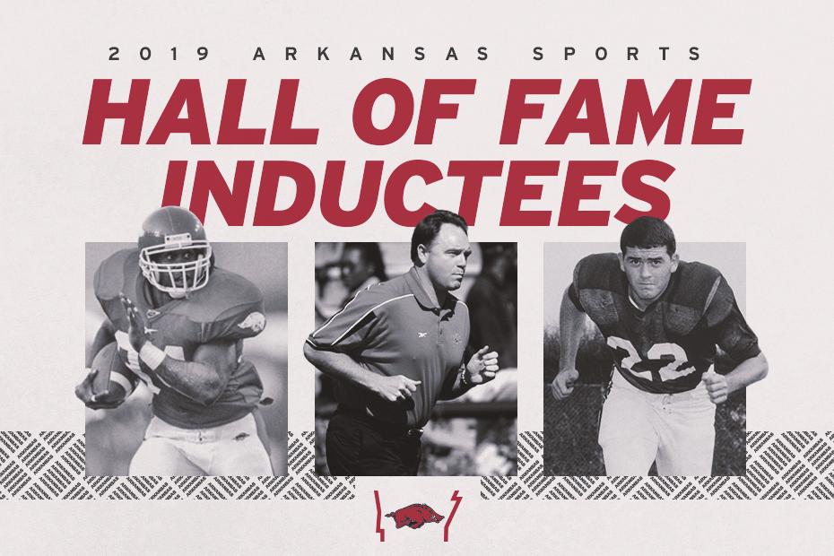 Trio of Razorbacks Selected for Arkansas Sports Hall of Fame
