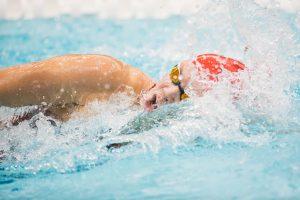 Hopkin Named Co-Swimmer of the Week