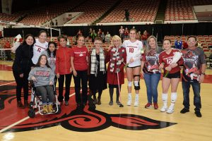 Volleyball Falls on Senior Day