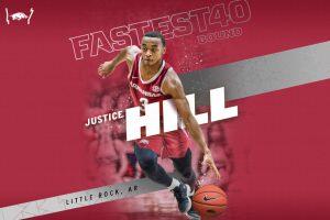 Arkansas Basketball Inks Justice Hill