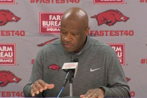 Arkansas Travels to #3 Tennessee