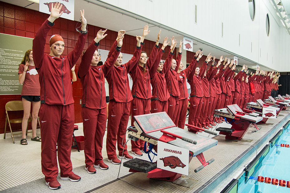 Arkansas Swimming and Diving Announces 2019-20 Schedule