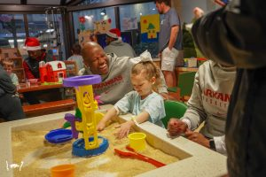 Razorback Basketball Visits Arkansas Children's Hospital