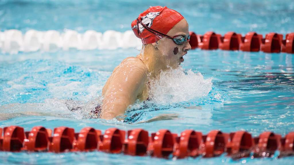 Hogs Wrap up Day Four at SEC Championships