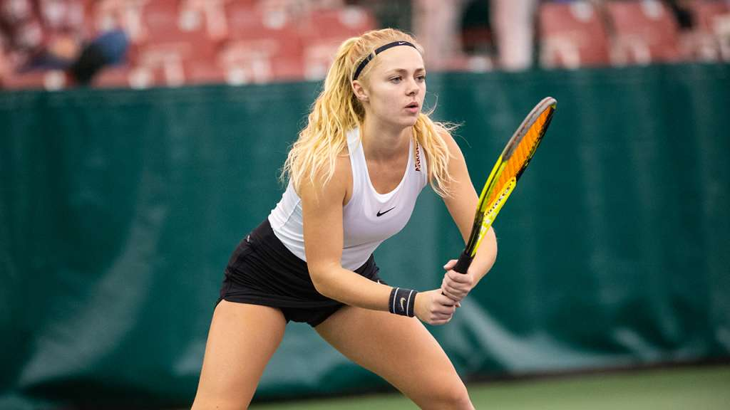 Hogs wrap up first day at ITA Regional Tournament