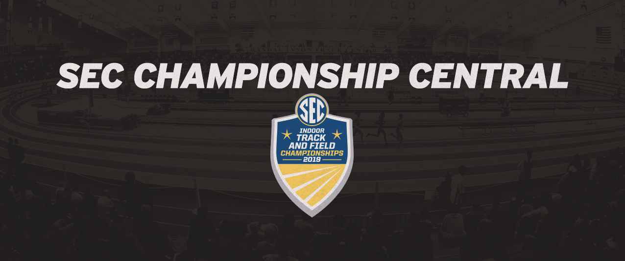 <center>SEC Indoor Track & Field Championships