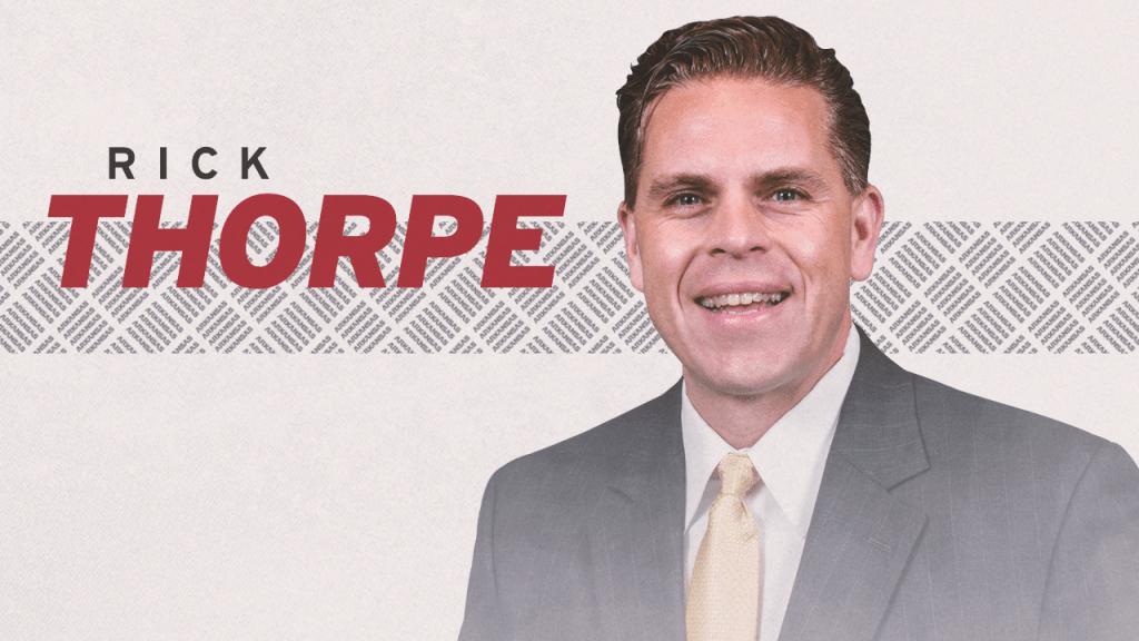 Rick Thorpe Joins Razorback Athletics As Deputy AD For External Engagement