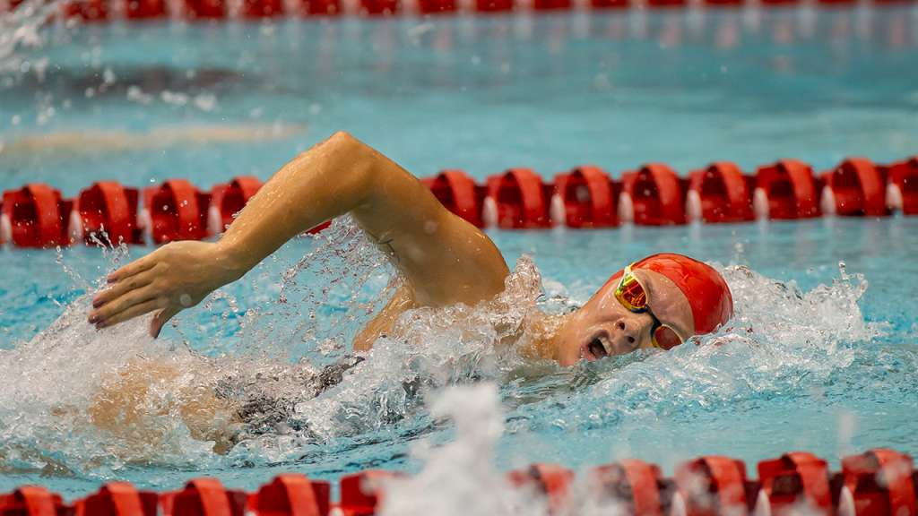 Hopkin Swims into 50M Final at World Championships
