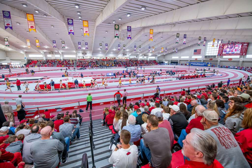 Tyson Center Again Leads Nation in NCAA Indoor Qualifying Performances