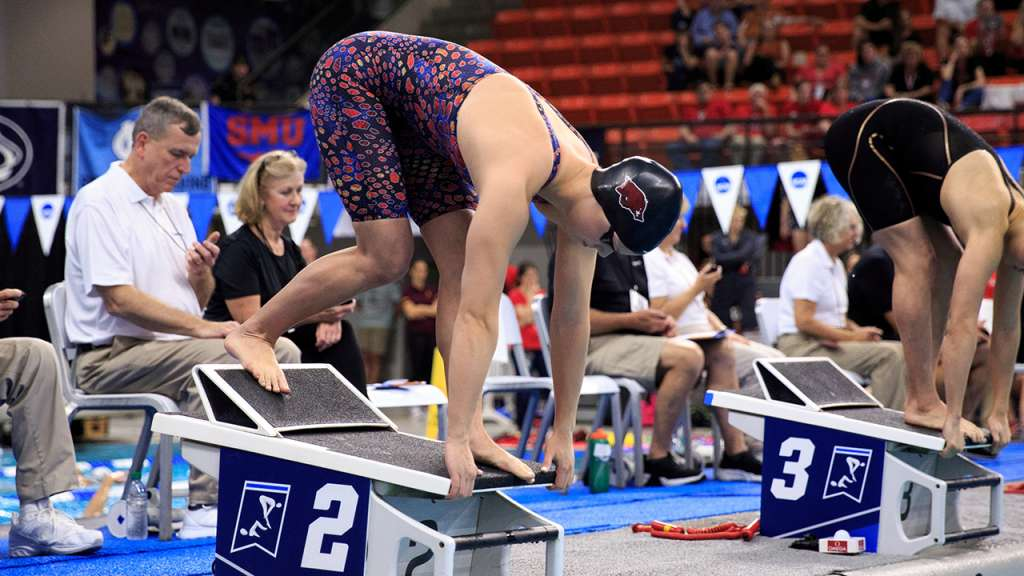 Two Top-5 Performances Highlight NCAA Day 2