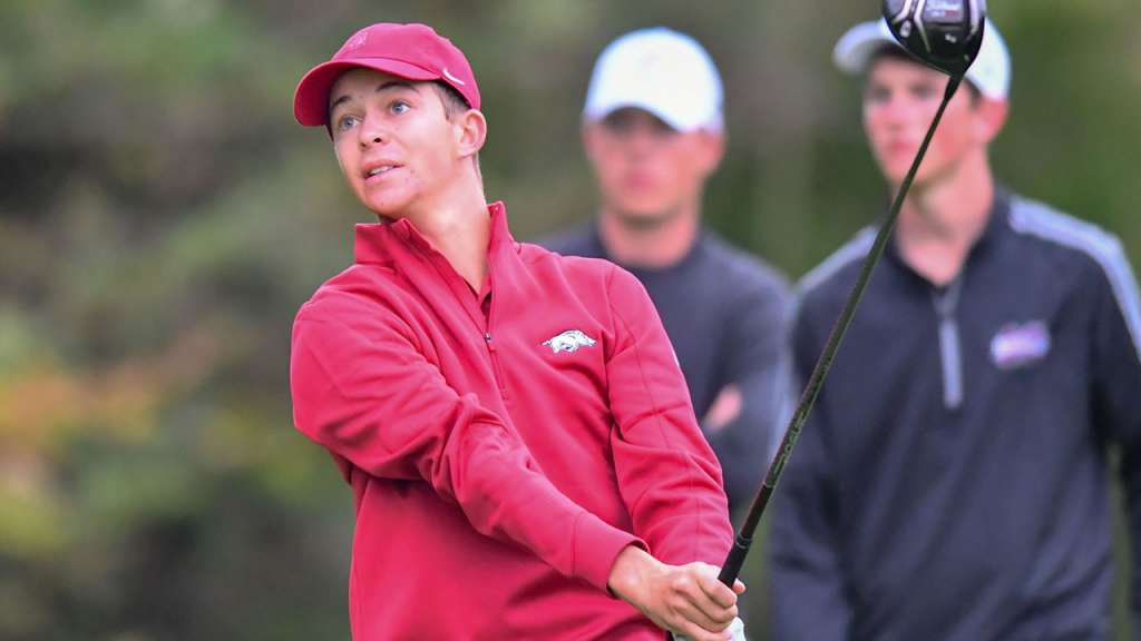 Gibson Tied for 8th; Razorbacks 13th at Cabo