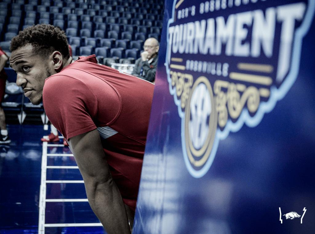 Practice Photos: SEC Tournament Prep at Bridgestone Arena