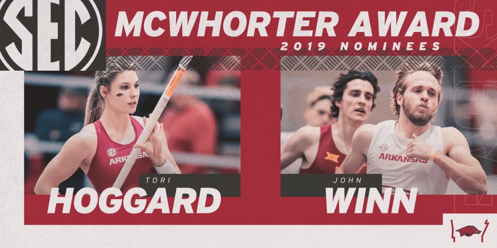 Hoggard, Winn Named 2019 McWhorter Award Nominees