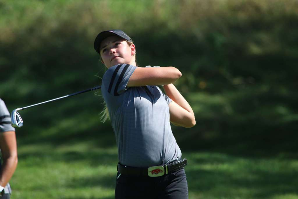 No. 18 Arkansas Women's Golf In Fifth After 36 Holes at Cougar Classic