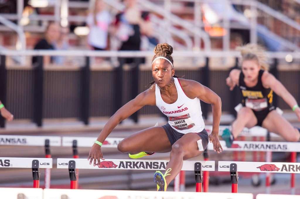 Brown Named SEC Athlete of the Week