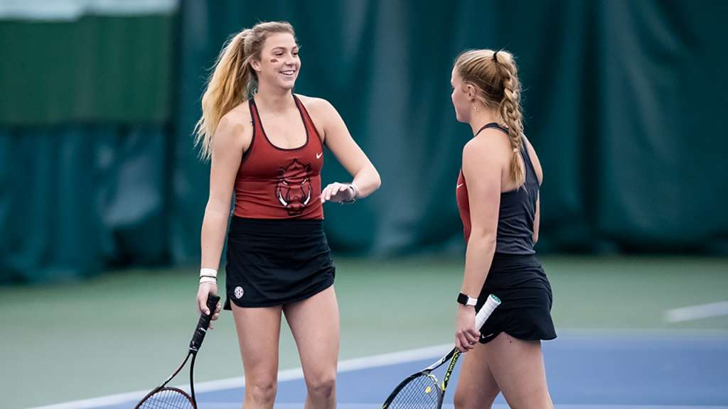 Razorback Tennis is Keeping Things Hot this Summer
