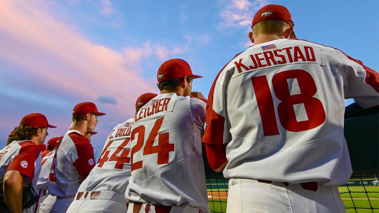 Postseason Baseball Begins In Hoover   Arkansas Razorbacks