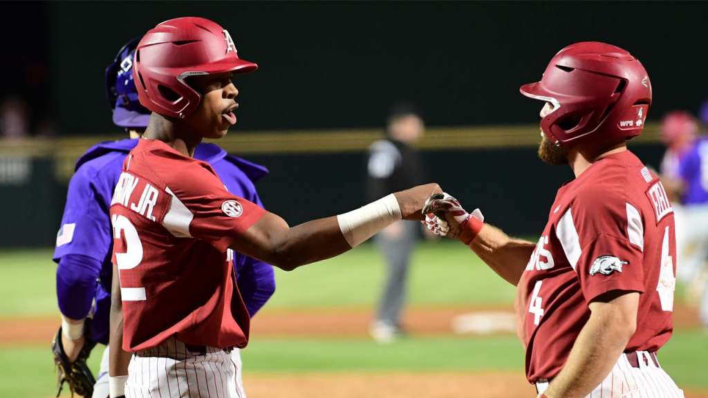 Division Title In Sight As Hogs Finish At Texas A&M