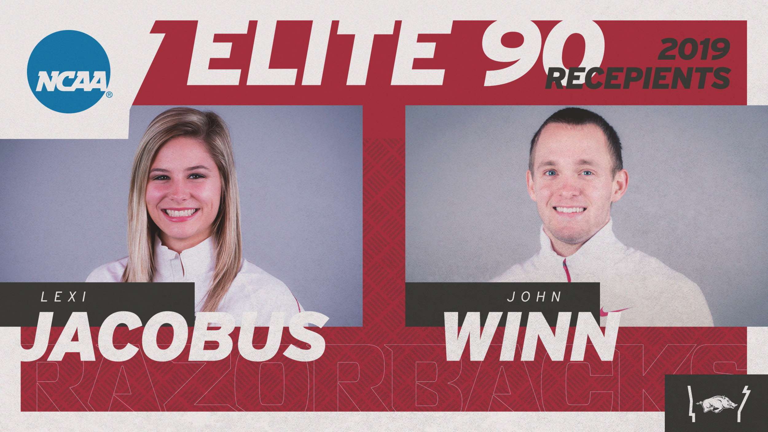 Jacobus, Winn Named Elite 90 Winners