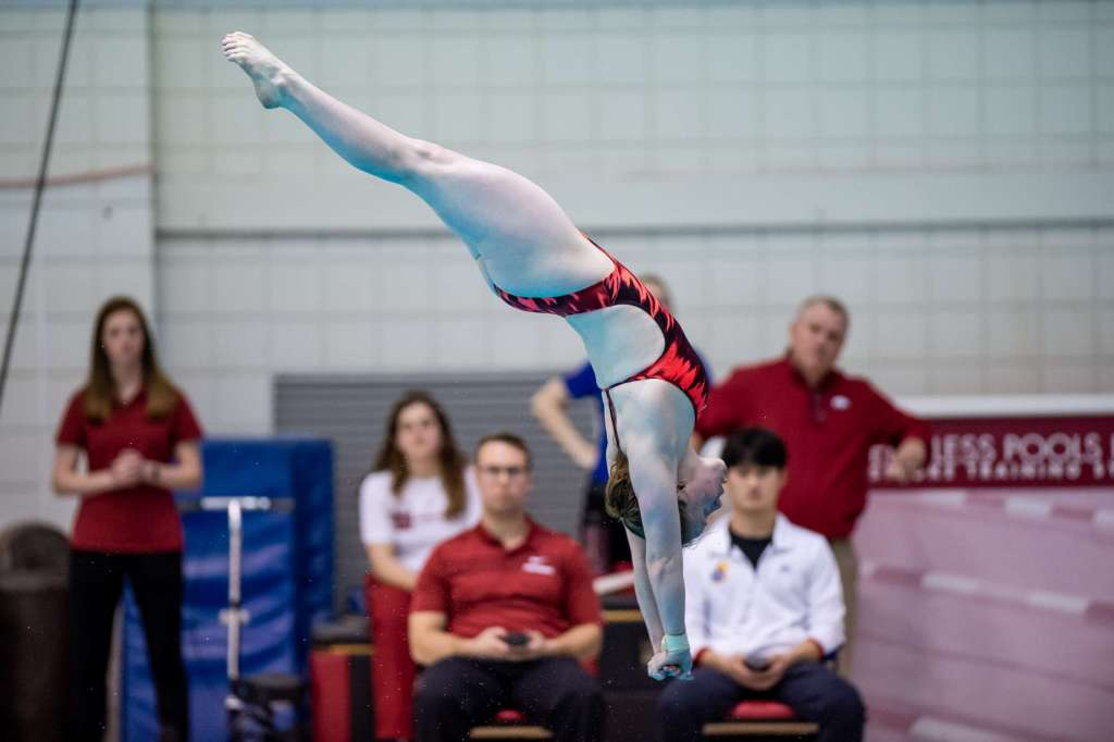 Schultz and Amer Perform in the 3-Meter Springboard at World Championships
