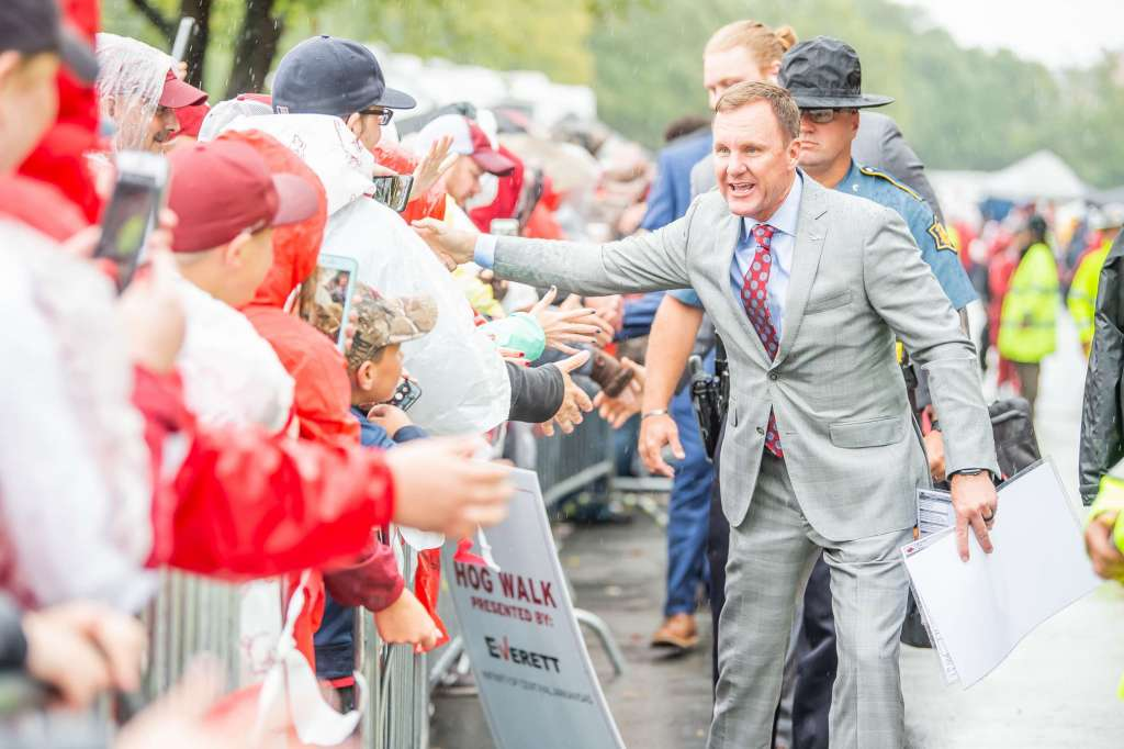 Razorback Football with Chad Morris to make TV Debut