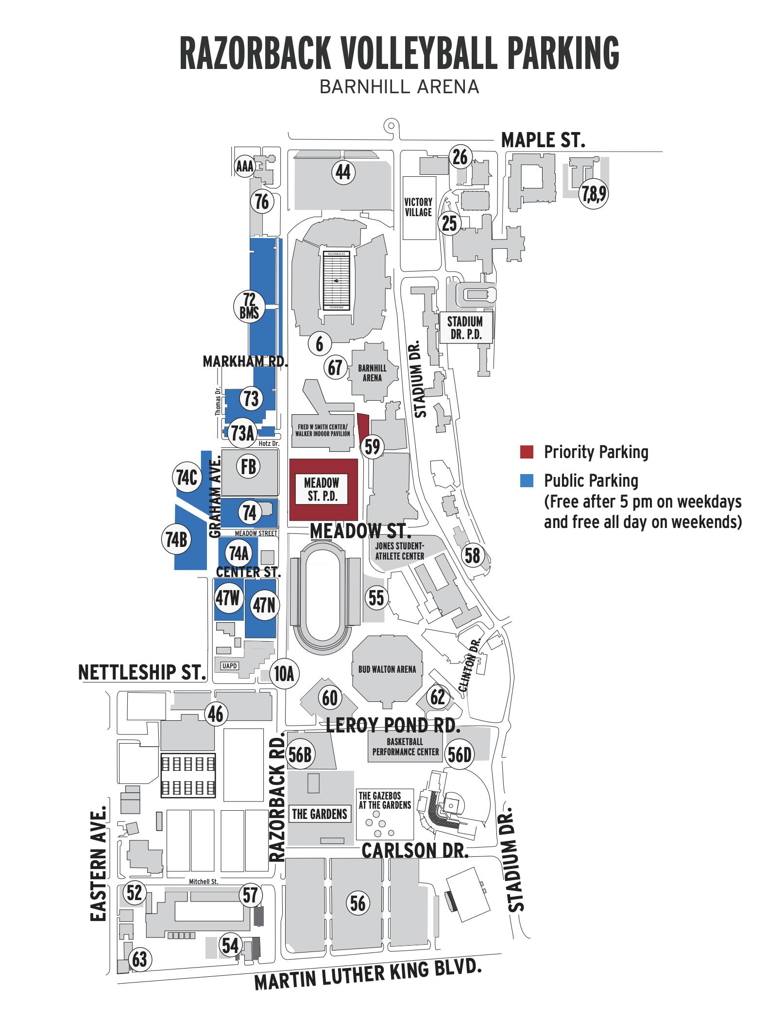 VB Parking Map