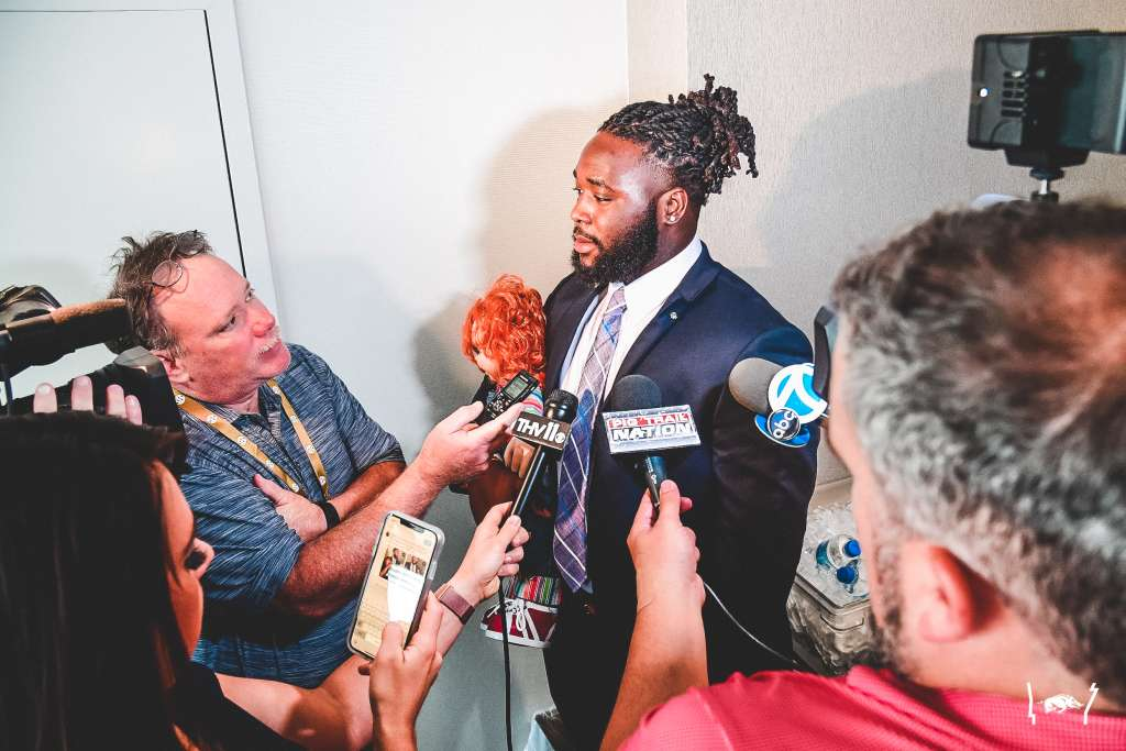 Photos: Football at 2019 SEC Media Day