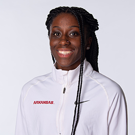 G'Auna Edwards - Women's Track & Field - Arkansas Razorbacks
