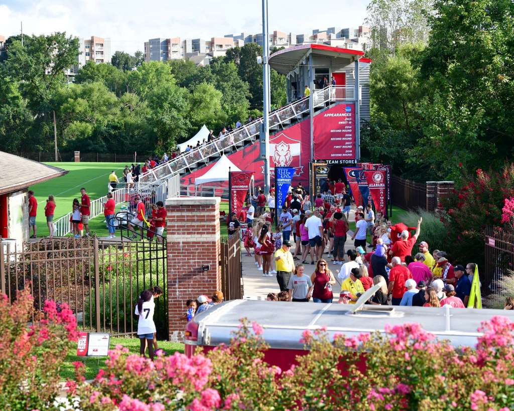 Razorback Soccer to host Block Party for North Carolina match
