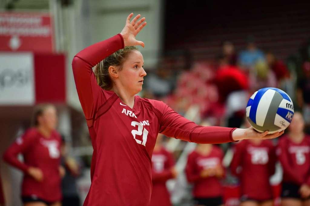 Arkansas Volleyball Drops SEC Opener at LSU