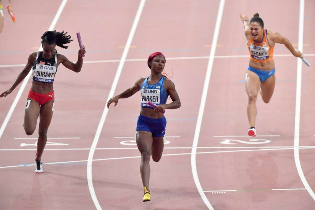 IAAF Day 9 – Parker Strikes Bronze, Brown Advances in 100mH