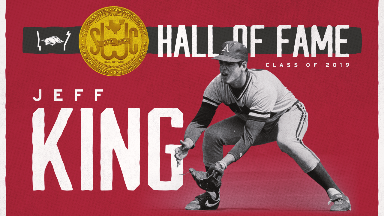 Former Razorback Baseball Great Jeff King Inducted into SWC Hall of Fame