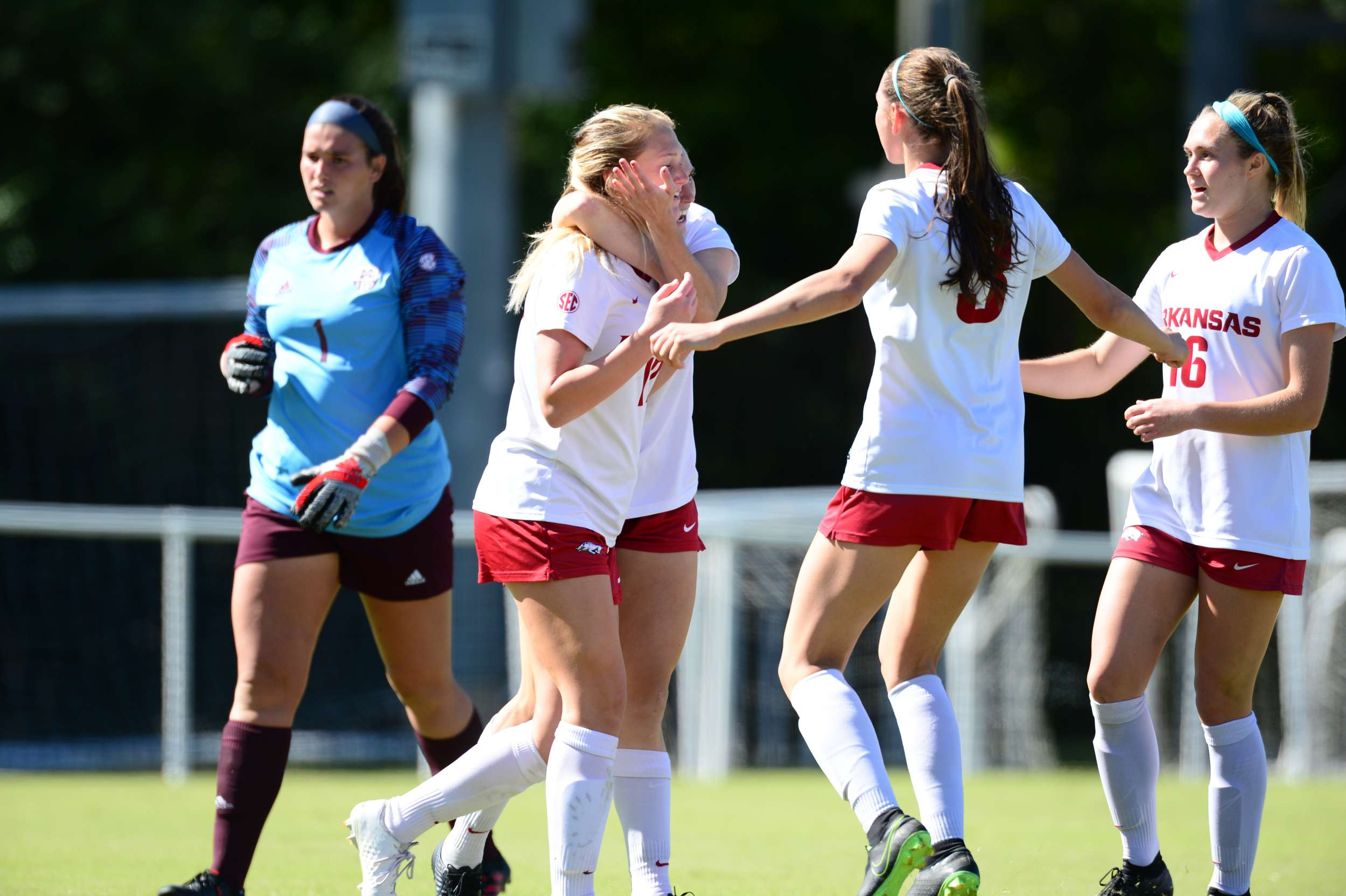 No. 13 Soccer nets 6-1 win over Mississippi State