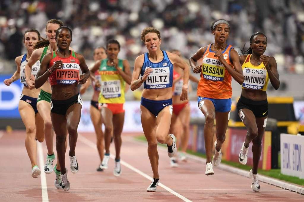 IAAF Day 7 – Hiltz Advances to 1500m Final