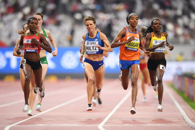 IAAF Day 6 – Hiltz Advances to Semifinal in 1500m