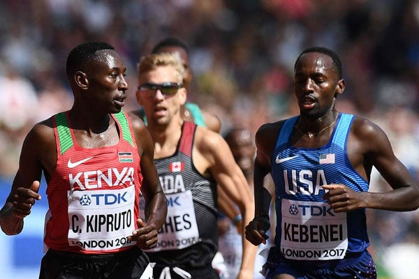 IAAF Day 8 – Kebenei Takes 10th in 3K-Steeplechase