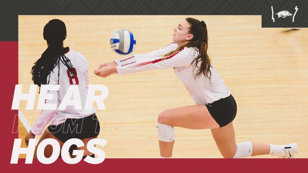 Hear from the Hogs: Razorback Volleyball Continues SEC Play