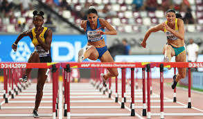 IAAF Day 10 – Brown Finishes Seventh in 100mH Final